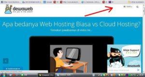 Cara beli domain dan hosting di dewaweb
