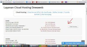 Cara beli domain dan hosting di dewaweb bagian 3