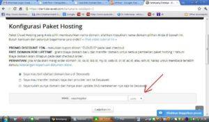 Cara beli domain dan hosting di dewaweb bagian 4