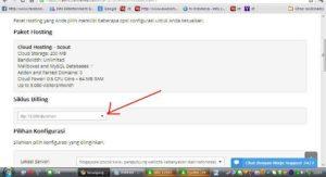 Cara beli domain dan hosting di dewaweb bagian 6