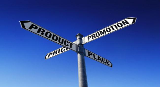 Marketing Mix, Konsep 4Ps